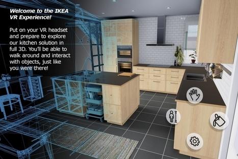 Ikea lance une cuisine en réalité virtuelle | Innovation et technologie | Scoop.it
