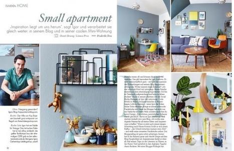 Home Tour in Sweet Living Magazin · Happy Interior Blog | Interior Design & Decoration | Scoop.it