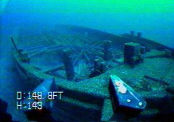 Researchers ID shipwrecks exposed by low lakes | Scuba Smurf | Scoop.it
