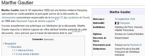 Sciences : où sont les femmes ? - Information - France Culture | Les Femmes de Génie sont rares ? | Scoop.it