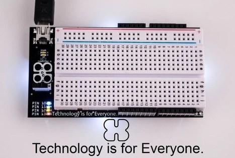 BreadBro Combines Both Arduino And A Solderless Breadboard (video)   Raspberry Pi   Scoop.it