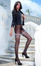 Trasparenze - Sensuous patterned polka dot tights Anfissa | Tights, Stay Ups, Hold Ups Sexy Tights | Scoop.it