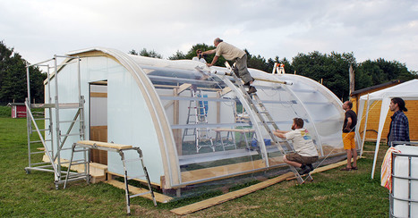 Aquaponic & Aquaponik Solar Gewächshaus der ebf-gmbh on Flipboard | world as cohabitat | Scoop.it