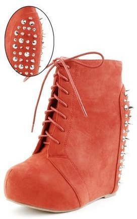 Spikes and Studs Wedges You'd Love by Scarlett Lee Rios on Lucky Community | All About Boots | Scoop.it