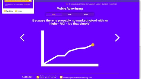 Tex Mobile Advertising - Because we love Mobile Advertising | Mobile Advertising | Scoop.it