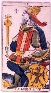 L'Empereur, quatrième lame du Tarot de Marseille | La seconde vue via telephone sembler etre franco essor | Scoop.it