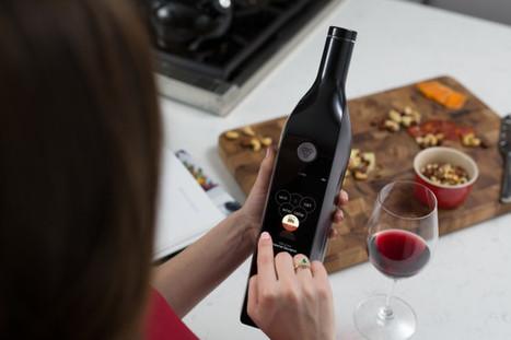 Le mag de la maison intelligente » Kuvée, une nouvelle arrivée connectée dans votre cave à vin   Hightech, domotique, robotique et objets connectés sur le Net   Scoop.it