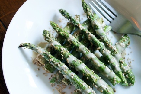 Super-Simple Sesame Drenched Asparagus Using Just 6 Ingredients and 15 Minutes [Vegan, Gluten-Free] | Healthy Living Lifestyle | Scoop.it