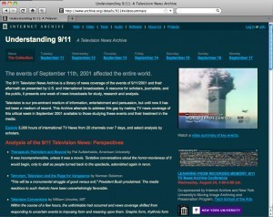 Understanding 9/11: A Television News Archive | Internet Archive Blogs | Video for Learning | Scoop.it