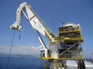 Subsea Crane Takes a Long Journey - MarineLink | Cranes & Hoists | Scoop.it