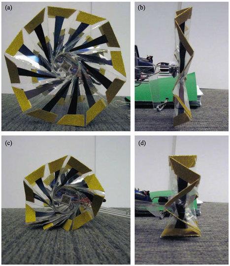 Robots With Origami Wheels | Automaton -  IEEE Spectrum | Robohub | Scoop.it