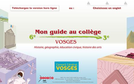 Vosges au collège | HG Sempai | Scoop.it