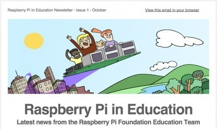 Subscribe to the Raspberry Pi in Education Newsletter @Raspberry_Pi #makereducation | Connected Curation | Scoop.it