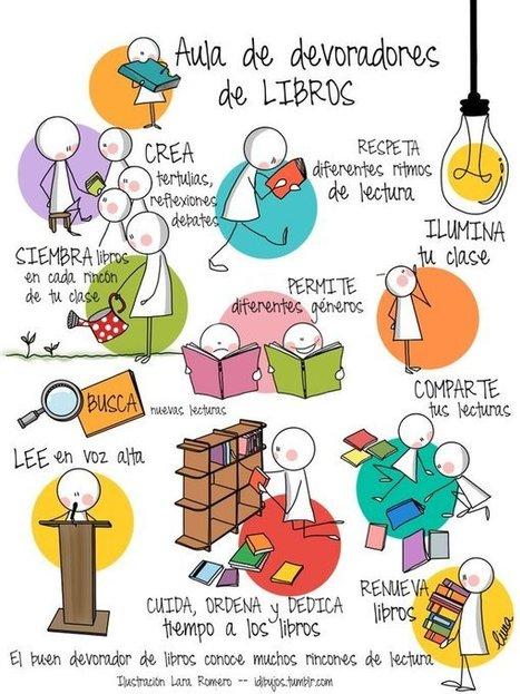 Leer para crecer, los espacios que favorecen la pasión por la lectura – innovaespacios | RED.ED.TIC | Scoop.it