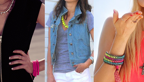 Looking For Some Instant Happy? A Little Neon Jewelry Is All You Need | 24-7 Fashion Should-Knows | Scoop.it