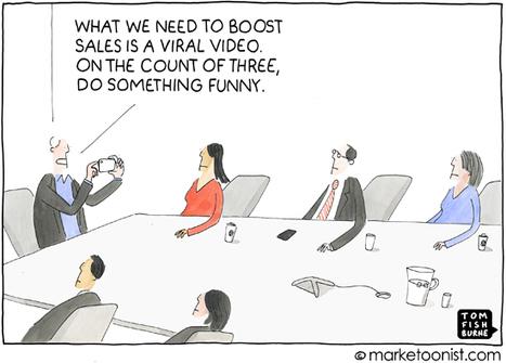 """Viral Marketing"" cartoon By Tom Fishburne | Social Media and Internet Marketing | Scoop.it"