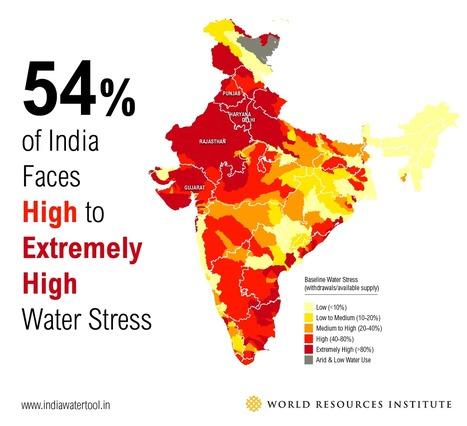 3 Maps Explain India's Growing Water Risks | Ingeniería del Agua | Scoop.it