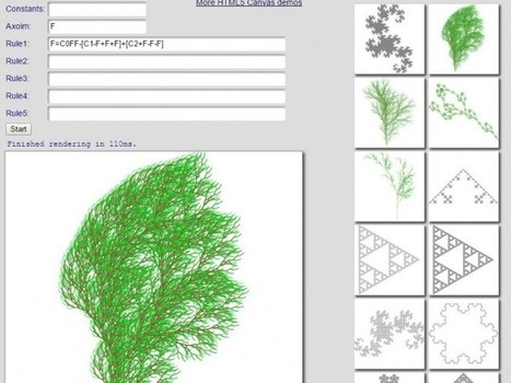 Sitios para ver y crear Fractales en Internet | Pedalogica: educación y TIC | Scoop.it