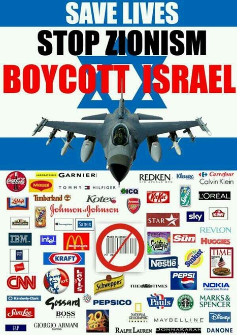 |SAVE LIVES |STOP ZIONISM | BOYCOTT ISRAEL | Anonymous Network News | Scoop.it