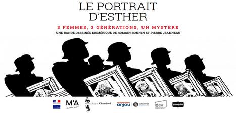 La BD numérique Le Portrait d'Esther - Seconde Guerre mondiale 15-18 ans | Ressources Ecole | Scoop.it