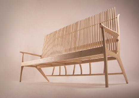 Woodstick Sofa by Give & Take » Yanko Design   dessin et peinture   Scoop.it