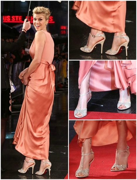 Adrianne Palicki in Crystal-Embellished Cesare Paciotti Sandals, Hot? | www.fitflopfrousandalsuk.co.uk | Scoop.it