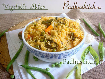 Vegetable Pulao Recipe-How to make Vegetable Pulao -2 | Padhuskitchen | Recipes, Yum! | Scoop.it