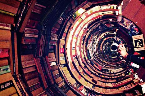 Heritage Tunnel, 2009 // Books, mirror, wood // 243 x 198 cm.... | book imagery | Scoop.it
