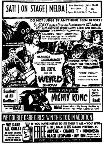 The Smell Of Fear (Or Something Stinks In Vintage Film Ad) | Herstory | Scoop.it
