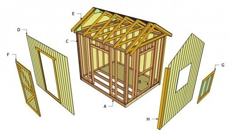Outdoor Shed Plans   Shed   Scoop.it