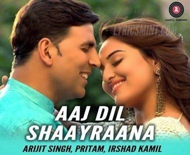 AAJ DIL SHAYRANA Mp3 Song Download Holiday Arijit Sing | Songs Pk | mp3songspke | Scoop.it