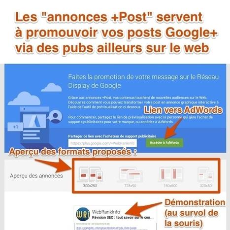 Google lance les Annonces +Post en France pour tous   PPC référencement payant   Scoop.it