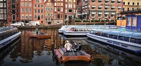 Roboat: les premiers bateaux autonomes navigueront à Amsterdam en 2017 | Libertés Numériques | Scoop.it