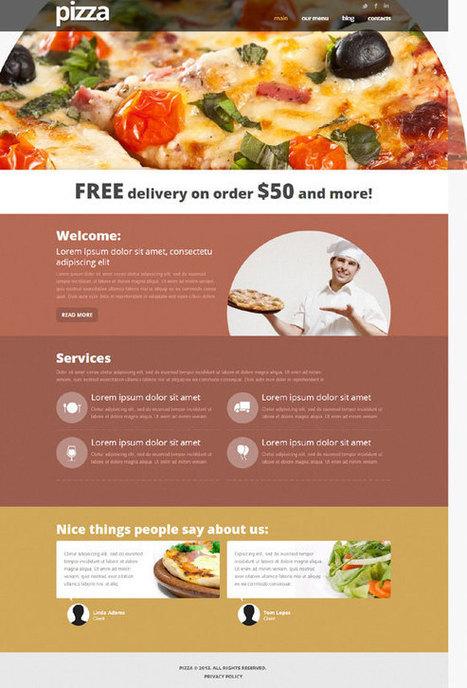 Pizza Joomla! Template 43613 | Joomla! Templates | sighfried | Scoop.it