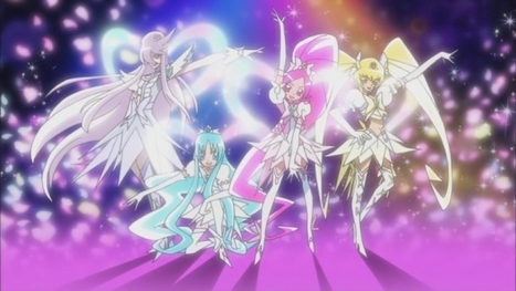 Heartcatch Pretty Cure! su Rai 2 dal 16 febbraio | ring of legends | Scoop.it