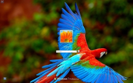 How to Change windows 7 Login Screen Background Without using any software | TechVally | Scoop.it