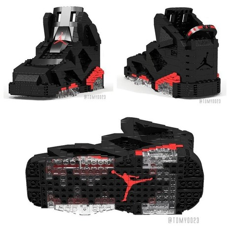 Another Classic Recreated! LEGO Air Jordan 9 By Tom Yoo | Winning The Internet | Scoop.it