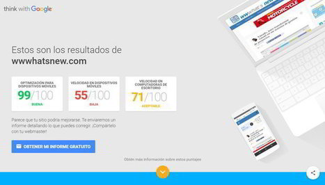 Elegante herramienta de Google para saber si un sitio web está optimizado para móviles | Recull diari | Scoop.it