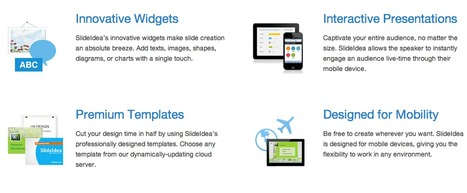 SlideIdea - Designed for Mobility | Create, Innovate & Evaluate in Higher Education | Scoop.it