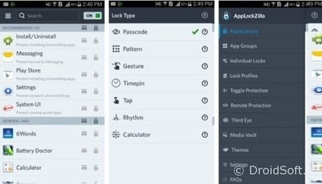 AppLock Zilla : app gratuite Android pour protéger ses apps | Astuces | Scoop.it