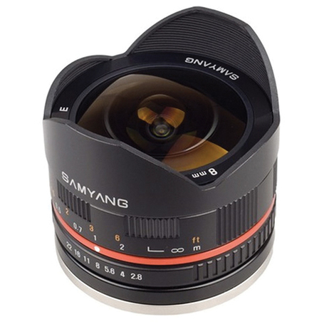NEW: Samyang 8mm f/2.8 lens fisheye lens for Fuji X mount | Fuji X-Pro1 | Scoop.it