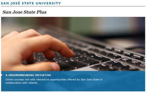 Sebastian Thrun: Udacity announces for-credit course pilot with San Jose State University | eEcole | Scoop.it
