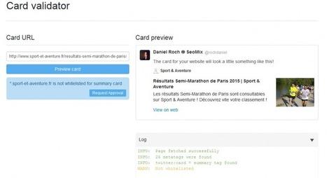 Twitter cards : pensez à demander l'autorisation #semanticWeb | Veille SEO - Référencement web - Sémantique | Scoop.it