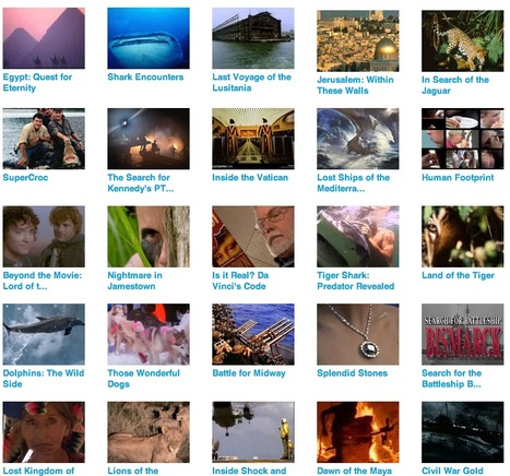National Geographic Documentaries and Videos | Watch Free Movies and Documentaries Online | SnagFilms | Zientziak | Scoop.it