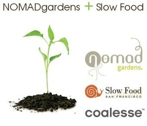 Nomad Gardens | NOMAD is a 'roaming' community garden | Eco-friendly roofs:  green, white, and garden | Scoop.it