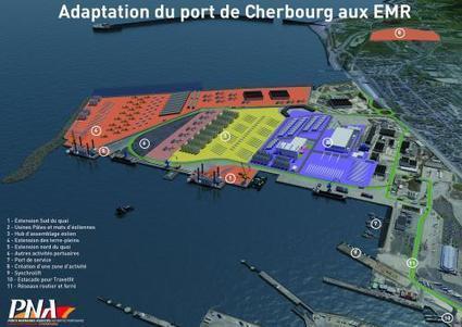 Le port de Cherbourg se prépare à l'arrivée des énergies marines   Energies Renouvelables scooped by Bordeaux Consultants International   Scoop.it