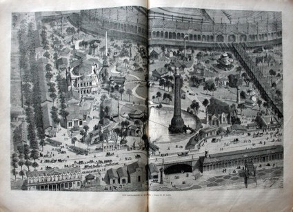 1867 PARIS EXPOSITION UNIVERSALLE World's Fair HUGE FOLIO, Incredible Engraved Illustrations RARE! (Auction ID: 224455, End Time : Oct. 25, 2012 23:00:00) - MYNOTERA ONLINE AUCTION | Antiquarian Books | Scoop.it