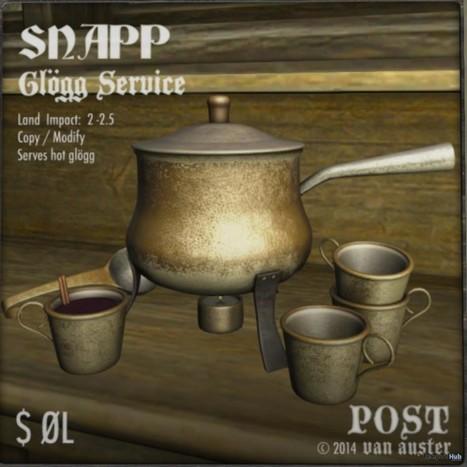 Snapp Glogg Service by POST | Teleport Hub - Second Life Freebies | Second Life Freebies | Scoop.it