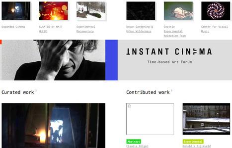 Instant Cinema | Arts visuels: questions & pratiques d'aujourd'hui | Scoop.it