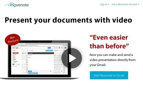 Movenote: Crea videolecciones de forma sencilla e integralas con Gmail | Internet | Scoop.it